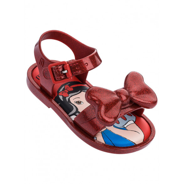 Sandália Mini Melissa Mar Sandal + Snow White 32531