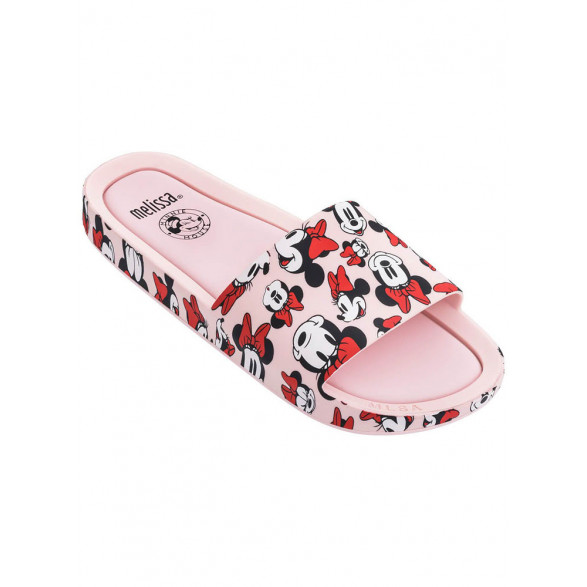 Chinelo Melissa Beach Slide + Mickey And Friends 32789