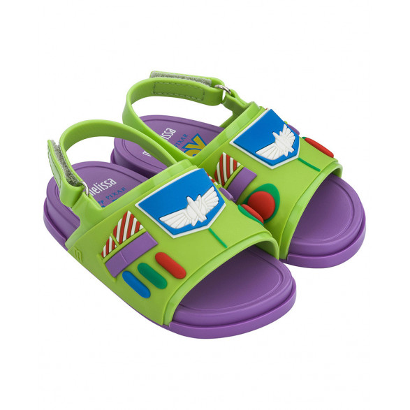Sandália Mini Melissa Beach Slide + Toy Story 32782